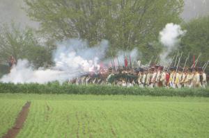 Bild 13 - Im Feuergefecht