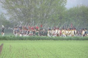 Bild 14 - Mit vereinten Kräften wird der Gegner zurückgedrängt.