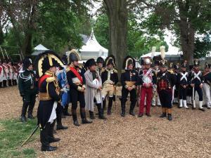 Bild 5 - Zusammenkunft beim Kaiser.