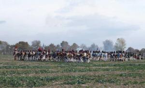 Bild 35 - Nun rückt unsere Infanterie vor.