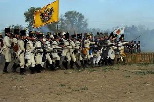 Bild 43 - Die Österreicher greifen an.