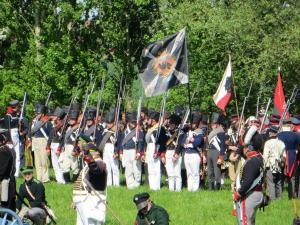 Bild 09 - Schnell positionieren sich die Preußen.