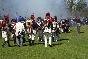 Bild 7 - Für einem Moment koennen die Preussen zurueckgedraengt werden. Grenadier Jean Francois ist mittendrin.