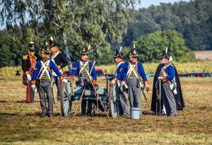 Bild 27 - Ihre Artillerie ist in Stellung gegangen.