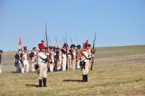 Bild 32 - Unsere westfälischen Verbündete sichern die Flanke.