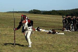 Bild 41 - Grenadier Jean-Francois wird schwer verwundet.