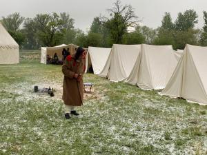 Bild 02 - Unglaublich - Schnee im Mai.
