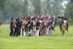 Bild 12 - Im Abwehrkampf