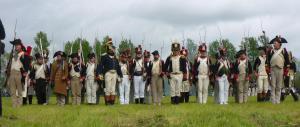 Bild 13 - Das Deutsche Peloton in Front.