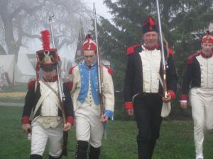 Bild 04 - Auch der Dienst an der Muskete muss geübt werden.