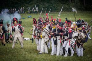 Bild 32 - Hinten kommen die Preussen. Wir sind umzingelt.