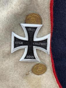 Bild 38 - Jeder Grenadier der 8ème erhält das Eiserne Kreuz für die Teilnahme an der Gefechtsnachstellung. Eine grosse Ehre!