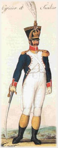 Lieutenant Auguste Francois Fontaine Moreau