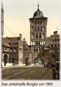 Die Schlacht bei Lübeck Das umkämpfte_Burgtor