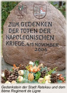 Die Schlacht bei Lübeck - Gedenkstein
