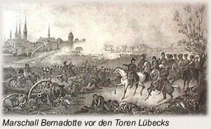 Die Schlacht bei Lübeck Vor den Toren Luebecks