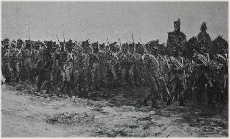 Altes Bild der Armee
