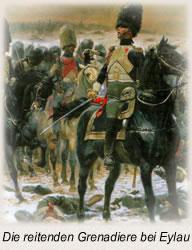 Die reitenden Grenadiere bei Eylau