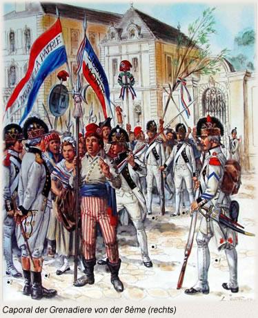 Caporal der Grenadiere von der 8ème