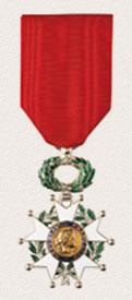 Auszeichnungen Offiziere und Soldaten Ehrenlegion