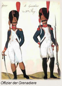 Offiziere der Grenadiere