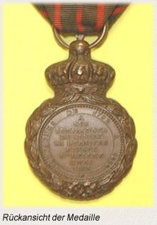 Sankt-Helena-Medaille Rueckansicht