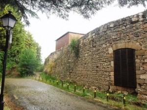 Heutige Ansicht der Festungswerke mit der Batterie Napoleon