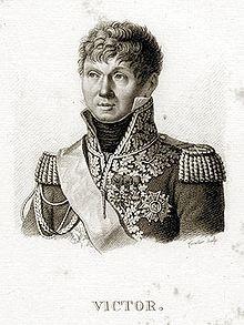 Marschall Victor, Befehlshaber des 1. Armeekorps