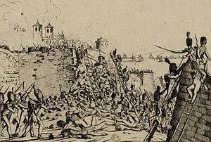 Erstürmung Tarragonas durch die Franzosen