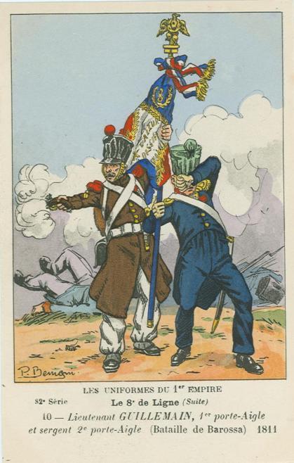8eme-1-adlertraeger-lieutenant-guillemain-und-sergeant-major-etienne-debette-in-der-schlacht-von-barrosa-5-mae-rz-1811