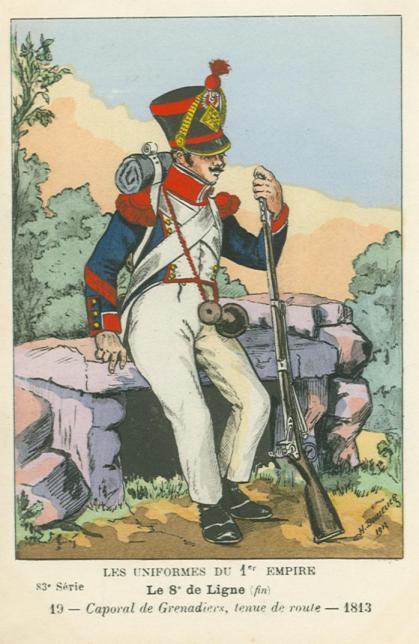 8eme-caporal-der-grenadierkompanie-1813