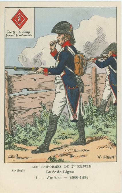 8eme-fuesilier-1800-1804
