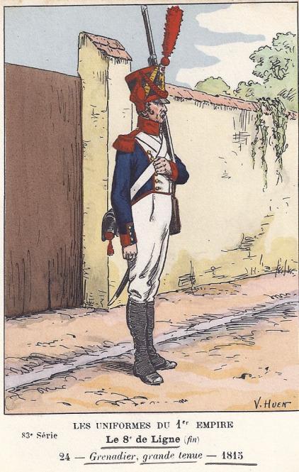 8eme-grenadier-in-grosser-uniform-1815
