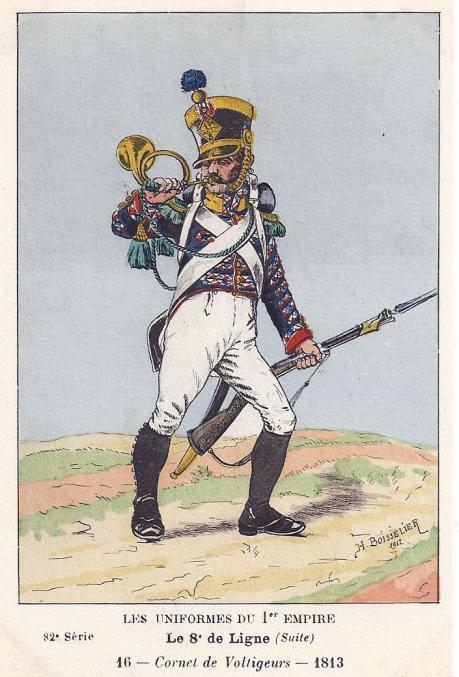 8eme-hornist-der-voltigeur-kompanie-1813