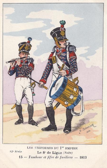 8eme-pfeiffer-und-tambour-der-1-fuesilierkompanie-1813