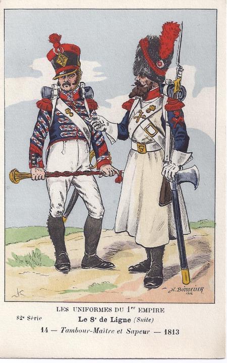 8eme-tambour-maitre-und-sappeur-1813