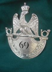 69ème Regiment de Ligne, Modell 1812 Voltigeure