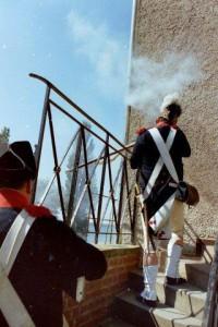Bild 2 - Aber schon entbrennt um die Festung ein heisser Kampf