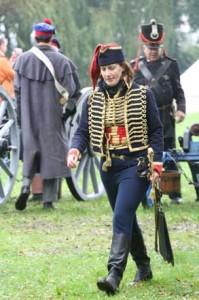 Der Lieutenant von den 4ème Hussards