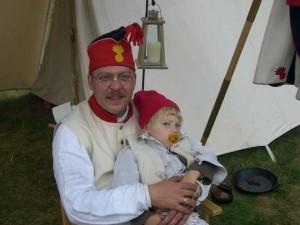 Grenadier Henri mit Nachwuchs für unsere Kompanie