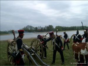 Bild 17 - Die Artillerie im Feuergefecht mit dem Gegner