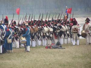 Bild 22 - Sammeln zum letzten Angriff