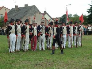 Bild 8 - Unser Capitaine sorgt für Ordnung in unseren Reihen
