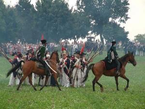 Bild 11 - Die 8ème  im Karrée gegen preußische Kavallerie