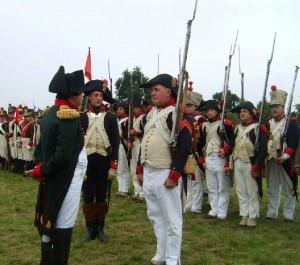 Bild 17 A - Grenadier Charles darf vortreten...