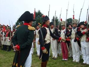 Bild 17 - Unser Capitaine präsentiert stolz sein Regiment