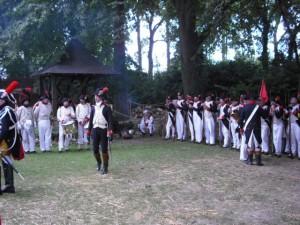 Abschnitt 2 Bild 2 - Die letzten Vorbereitungen vor der Ankunft des Kaisers