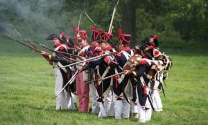 Bild 7 - Erste Feuergefechte