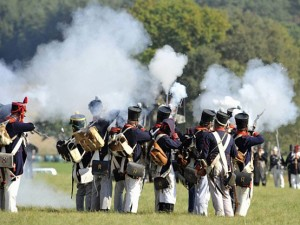 Bild 13 - Die franz. Infanterie im schweren Abwehrkampf