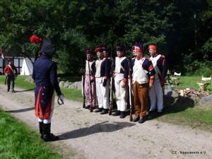 Bild 1 Die Franzosen nehmen Quartier in Molfsee